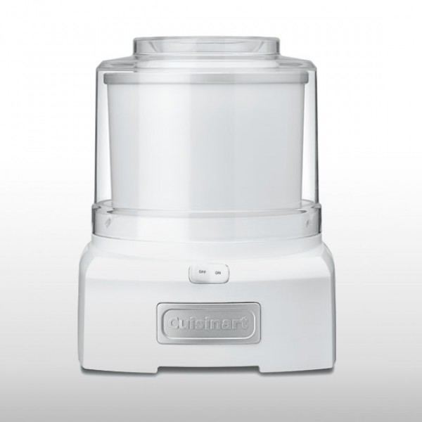Cuisinart ICE CREAM MAKER 1.5Lt - White