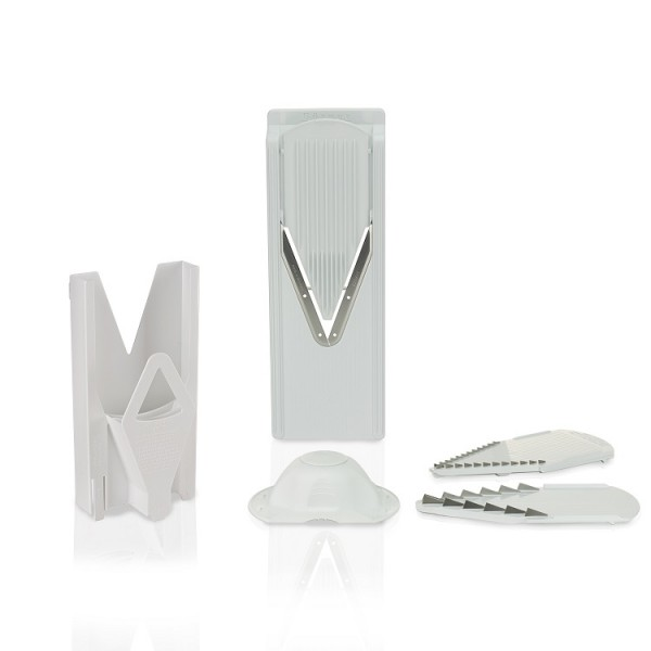 Borner V-Slicer V3 Trendline with Multibox holder White