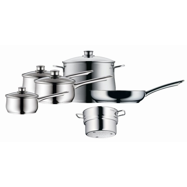 WMF Diadem Plus Cookware Set 10 Piece