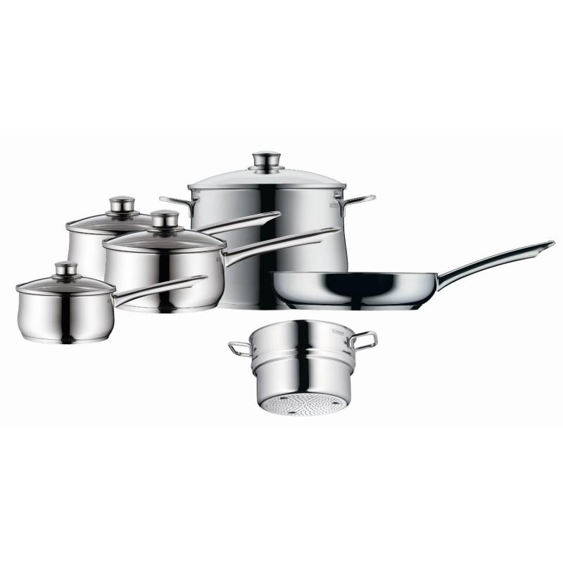 wmf diadem plus cookware set 10 piecewmf diadem plus cookware set 10 piece. Black Bedroom Furniture Sets. Home Design Ideas