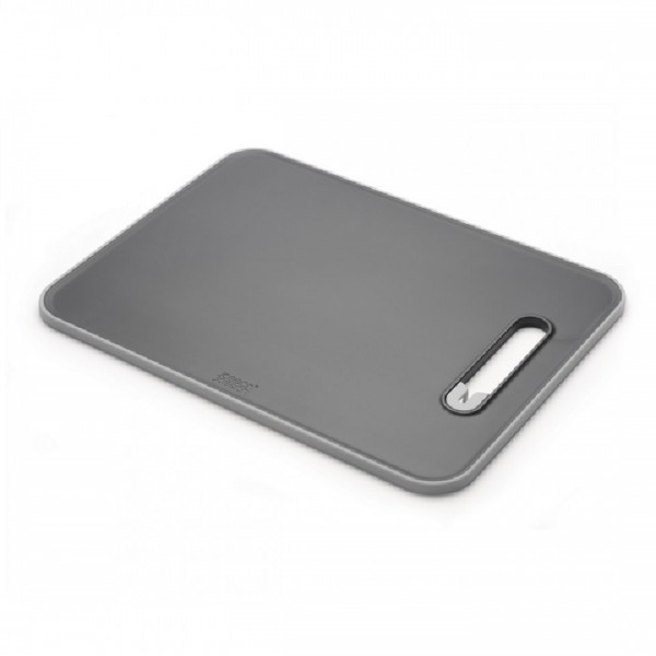 Joseph Joseph Slice & Sharpen Chopping Board Large - Black