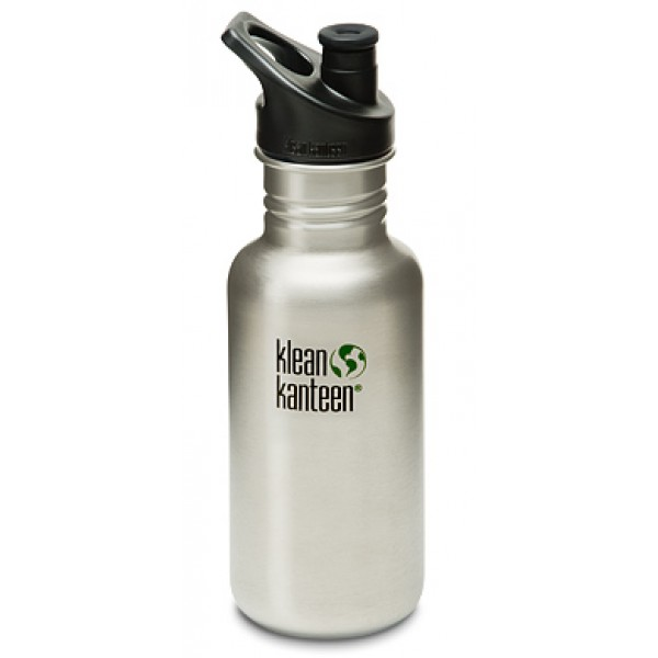 Klean Kanteen Classic 532ml Bottle - Brushed Stainless