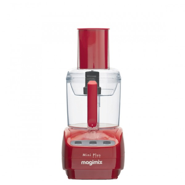 Magimix Le Mini Plus Food Processor Red