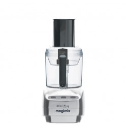 Magimix Le Mini Plus Food Processor Matt Chrome