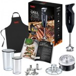 Bamix Speciality Grill & Chill BBQ Immersion Blender 200W Black