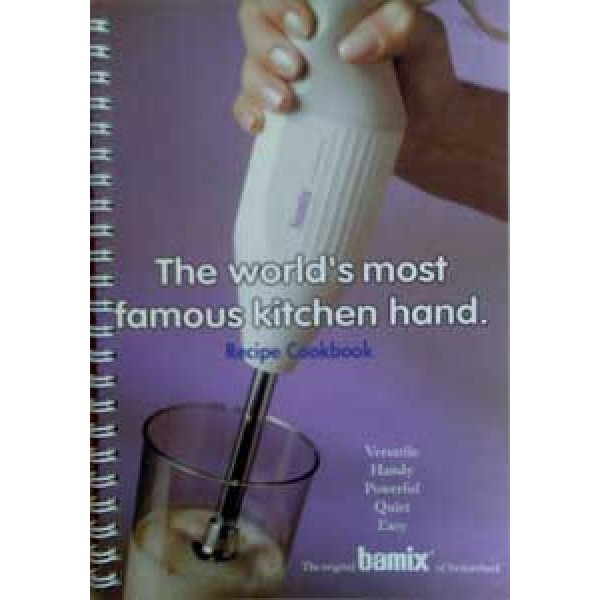 Bamix Recipe Cookbook - Australian 1998 Version