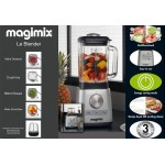 Magimix Le Blender Matt Chrome
