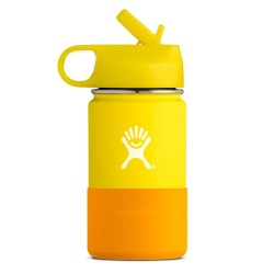 Hydro Flask 355ml (12oz) Kids Wide Mouth Lemon