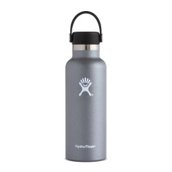 Hydro Flask Standard Mouth 532ml (18oz) Graphite