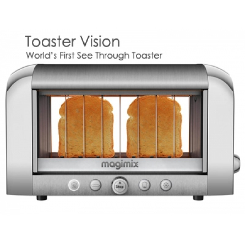 magimix vision toaster 2 slice silver. Black Bedroom Furniture Sets. Home Design Ideas